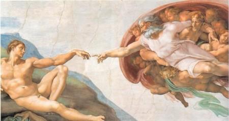 00  Michelangeo's God Creating Adam