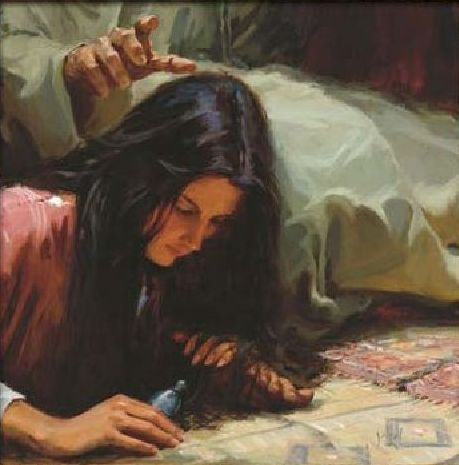 Sinful woman forgiven by jesus christ - 2 1