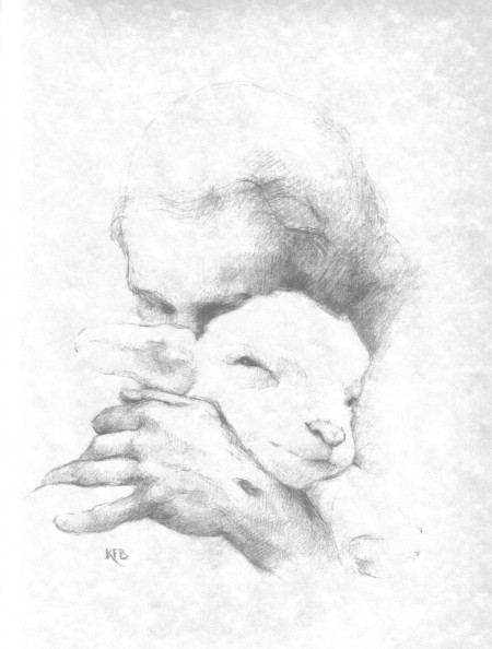 Copy of Jesus and the Lamb