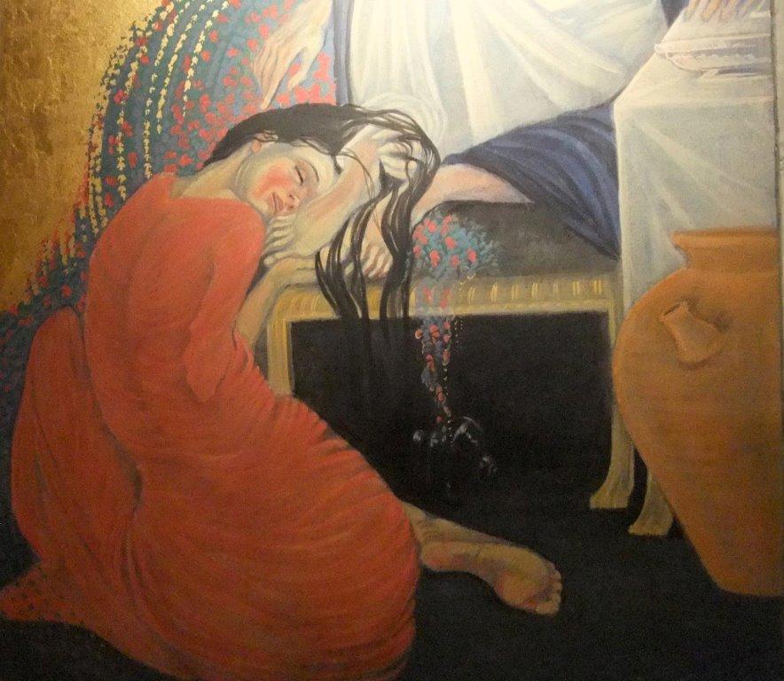 Woman at feet of Jesus 775103_10200251095628381_1851937862_o - 2